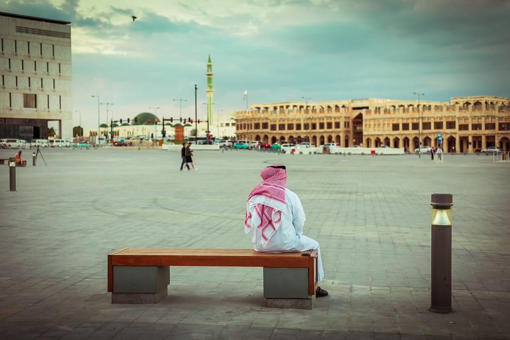 Doha Souq Waqif by Bojan Mustur