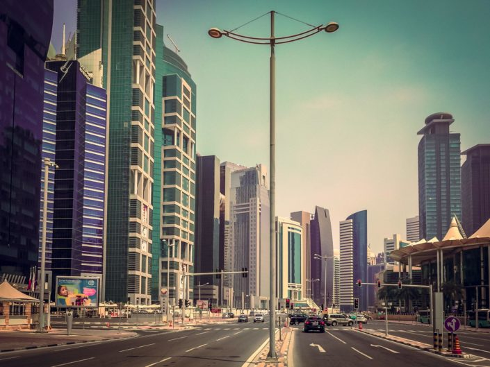 Doha West Bay 2017