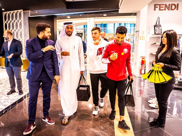 Qatar National Team visit Salam